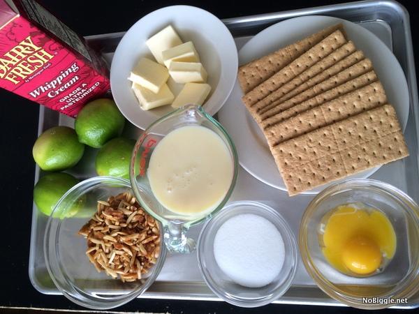 Key Lime Pie | ingredients | NoBiggie.net