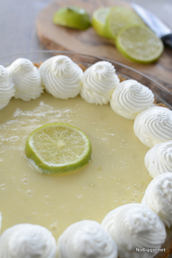 Key Lime Pie | so good! the crust is amazing! | NoBiggie.net