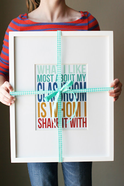 Teacher Appreciation Print | 25+ teacher appreciation week ideas