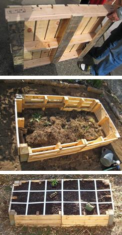 Pallet Garden | 25+ garden pallet projects