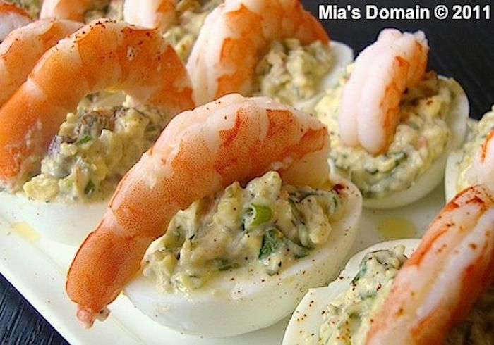 Shrimp Deviled Eggs | 25+ Deviled Egg Recipes