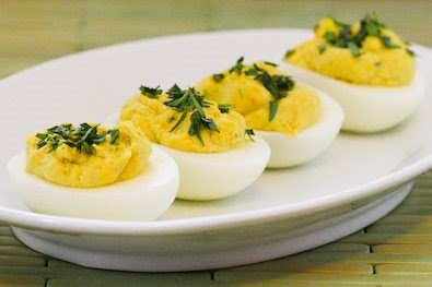 Tarragon Mustard Deviled Eggs | 25+ Deviled Egg Recipes