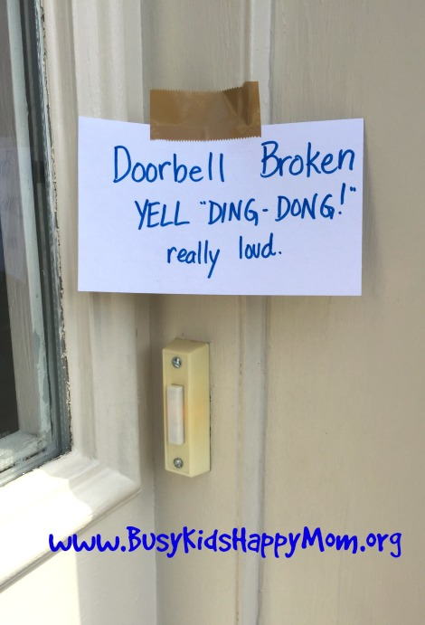 the doorbell Joke | 25+ April Fools Day Ideas