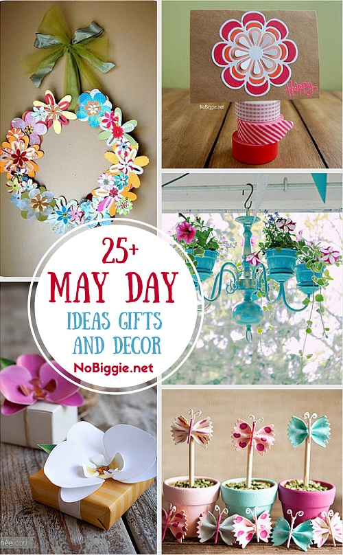 May Day Ideas a great way to celebrate and add some Spring into your day. . #mayday #may #crafts #gifts #decor
