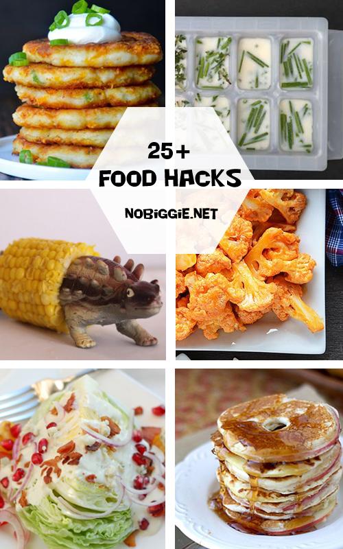 25+ Food Hacks