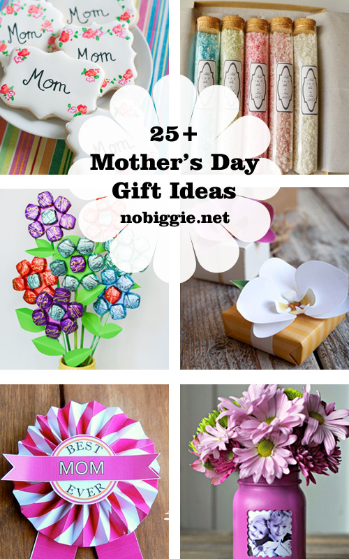 25+ Handmade Mother's Day Gift Ideas | NoBiggie.net