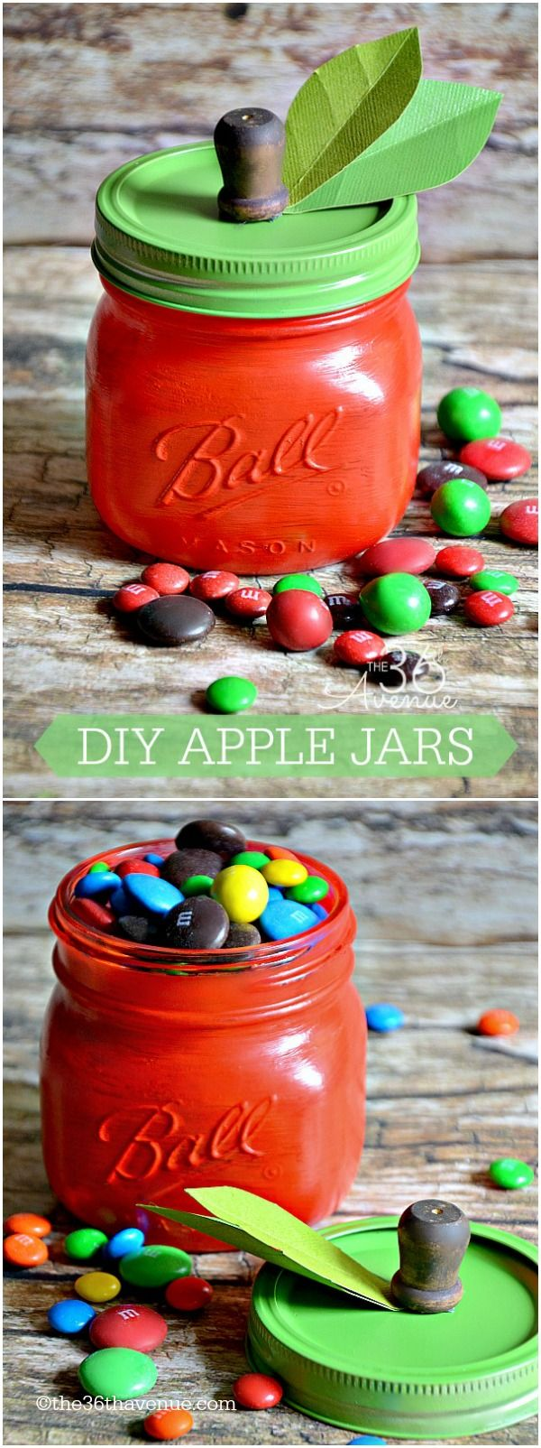 DIY Apple Jars | 25+ MORE Teacher Appreciation Week ideas