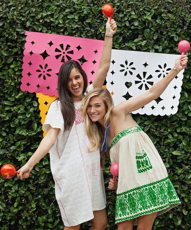 DIY Jumbo Papel Picado | 25+ Cinco de Mayo Ideas