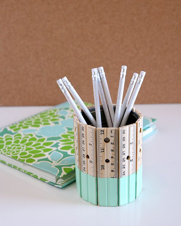 DIY Pencil Holder | 25+ MORE Teacher Appreciation Week ideas