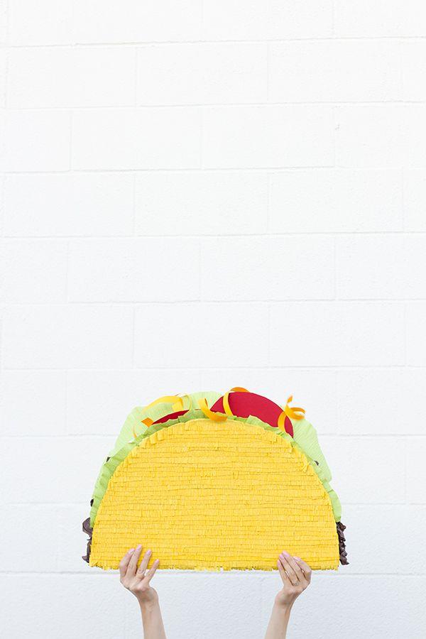 DIY Taco Piñata | 25+ Cinco de Mayo Ideas
