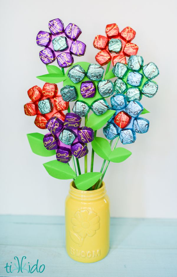 Dark Chocolate Bouquet | 25+ Mother's Day Gift Ideas