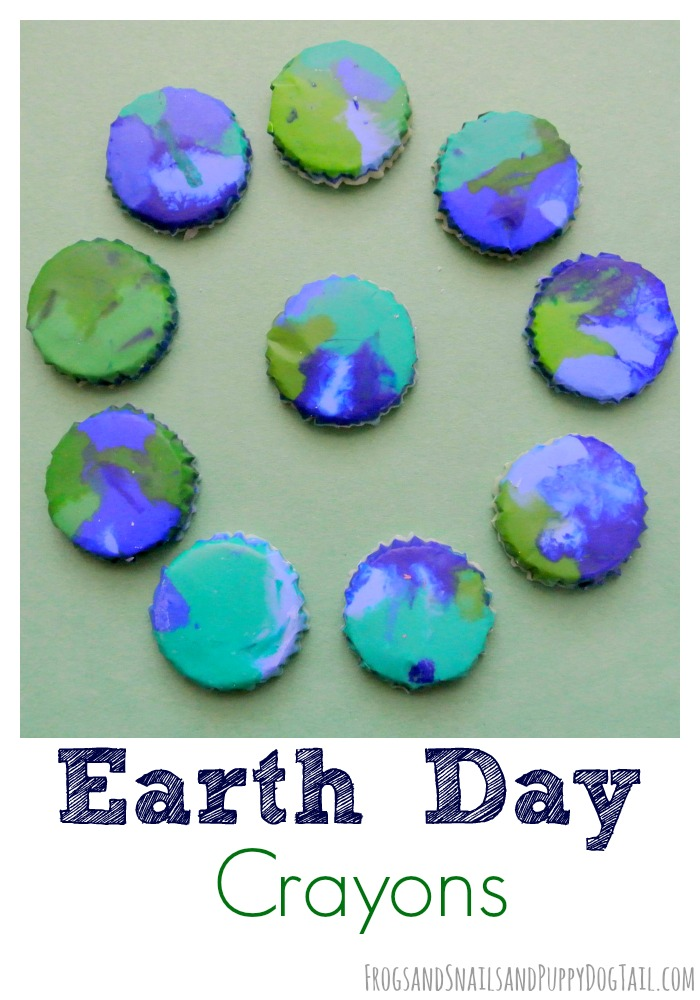Make Earth day crayons | 25+ Earth Day ideas