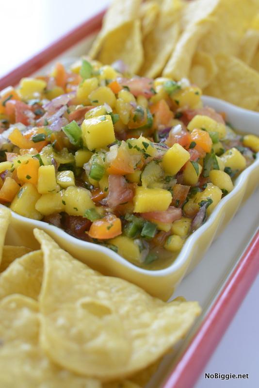 I need to make this! Mango Salsa recipe via NoBiggie.net