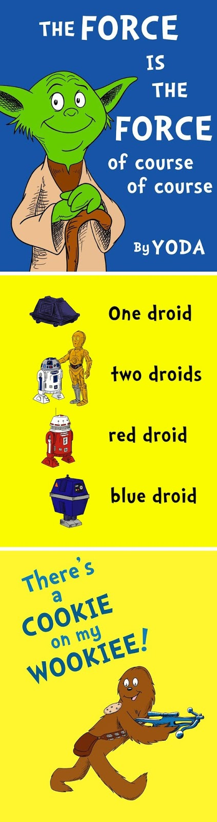 If Dr. Suess Wrote Star Wars | 25+ ways to celebrate Star Wars Day