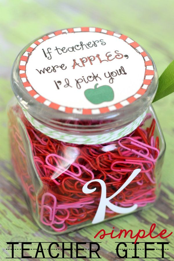 If Teachers Were Apples | 25+ MORE Teacher Appreciation Week ideas
