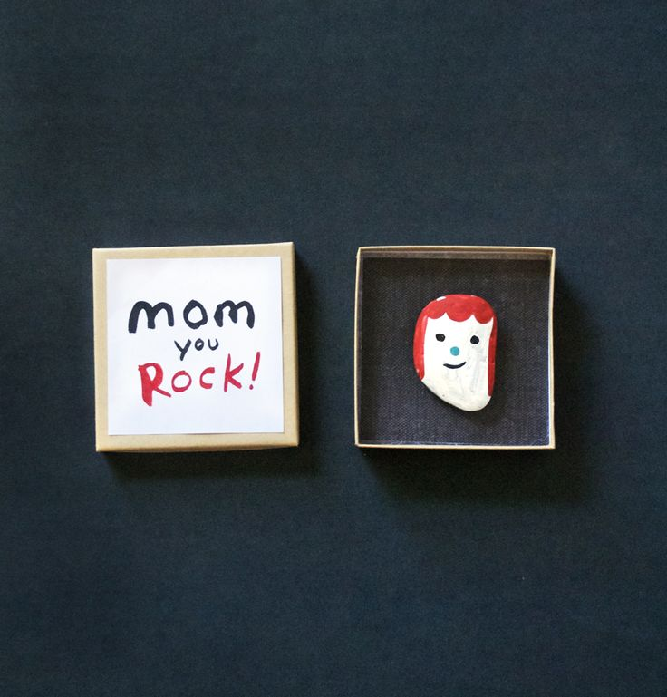 Make a Rock Portrait | 25+ Mother's Day Gift Ideas