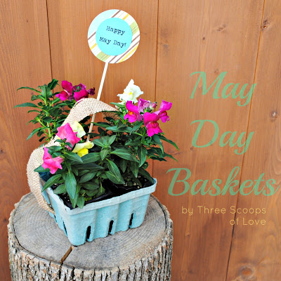may day baskets  may day ideas: day orchid decor