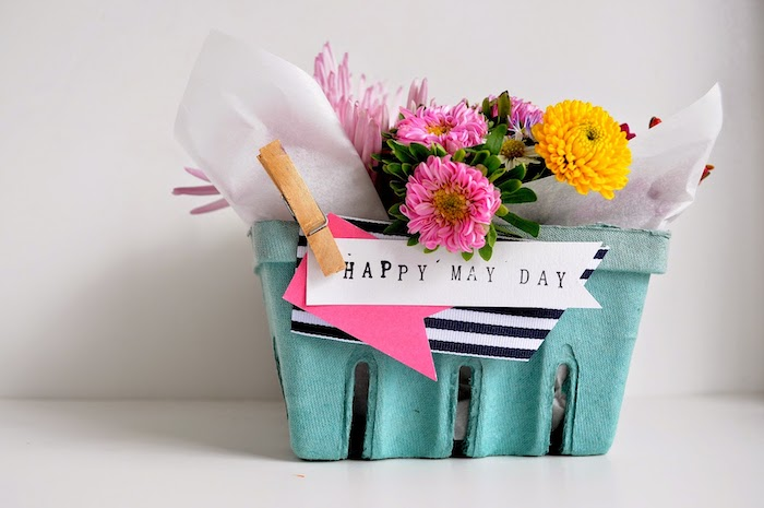 May Day Berry Basket | 25+ May Day ideas