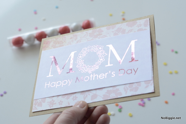 Minc Foil Applicator - Mother's Day card