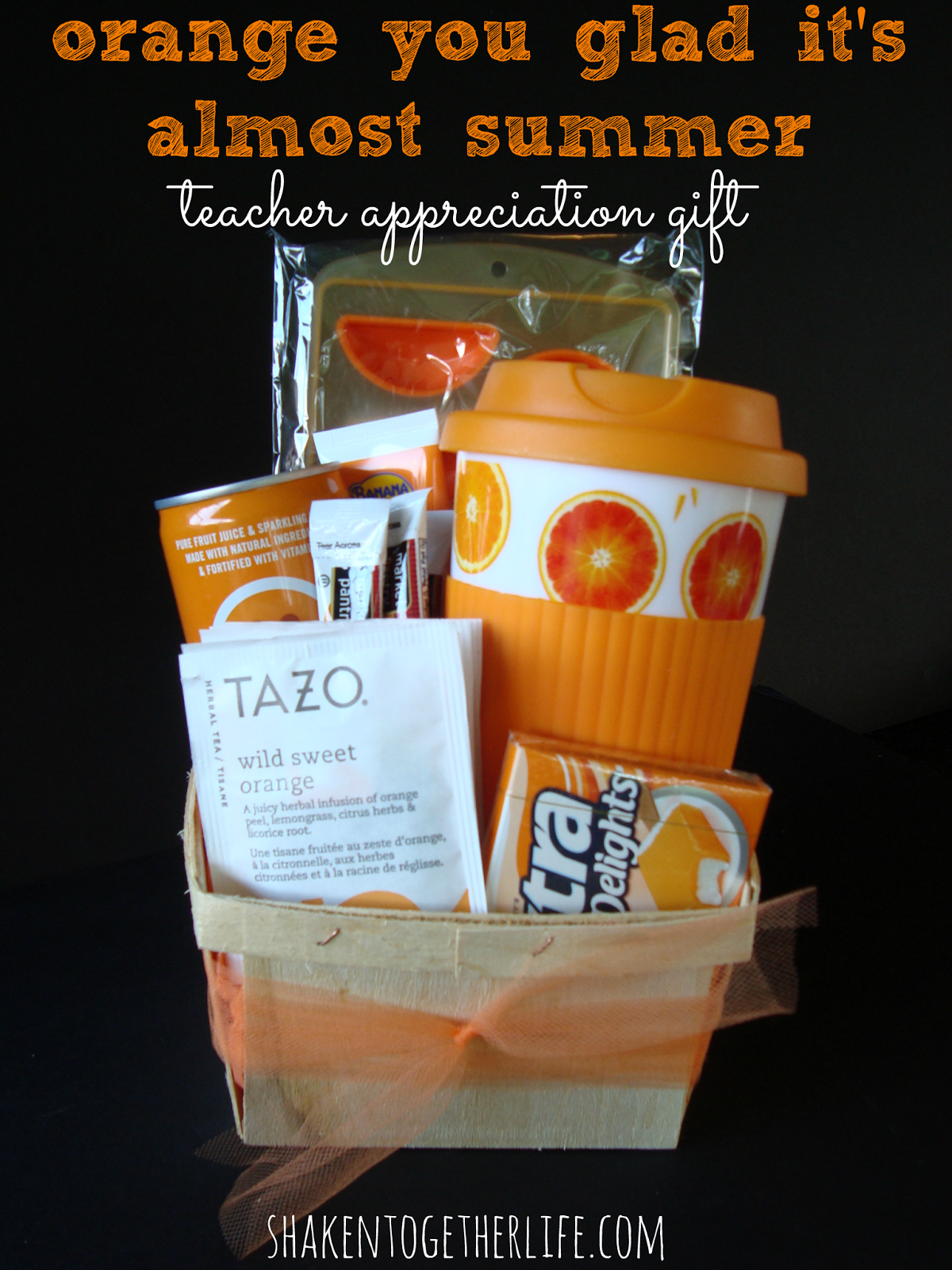 Orange You Glad | 25+ MORE Teacher Appreciation Week ideas