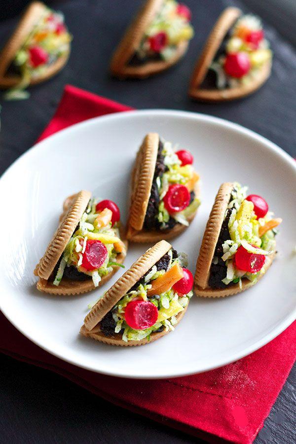 Oreo Taco Cookies | 25+ Cinco de Mayo Ideas
