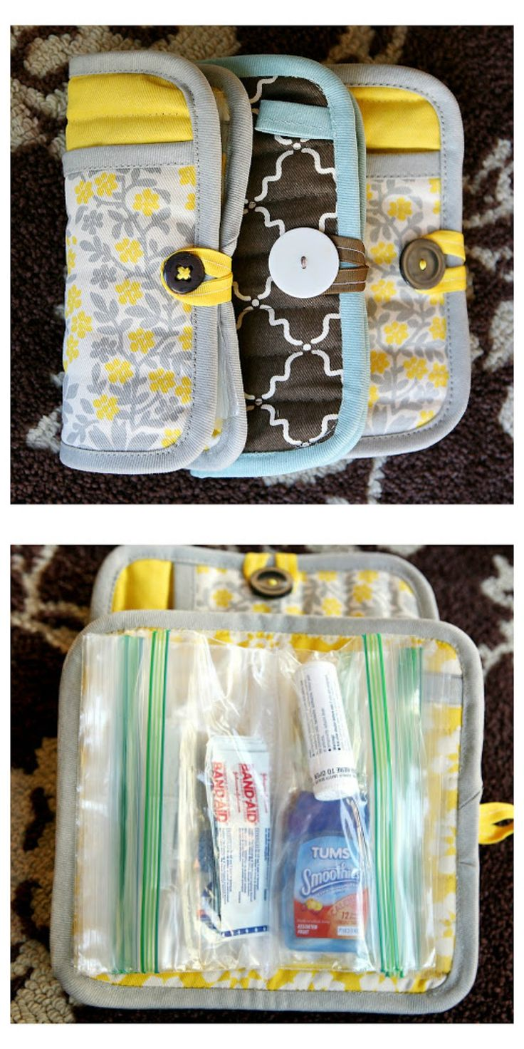 Potholder Emergency Clutch | 25+ Mother's Day Gift Ideas