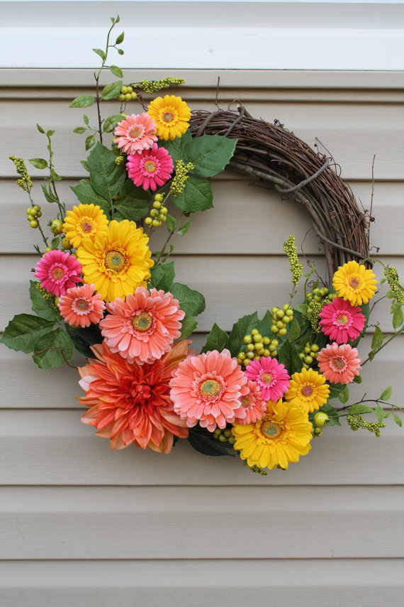 Spring wreath | 25+ May Day ideas