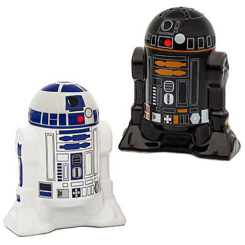 Star Wars Droid Salt and Pepper Shakers | 25+ ways to celebrate Star Wars Day