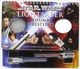 Star Wars Lightsaber Thumb Wrestling | 25+ ways to celebrate Star Wars Day