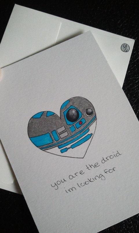 Star Wars Valentines Love Card | 25+ ways to celebrate Star Wars Day