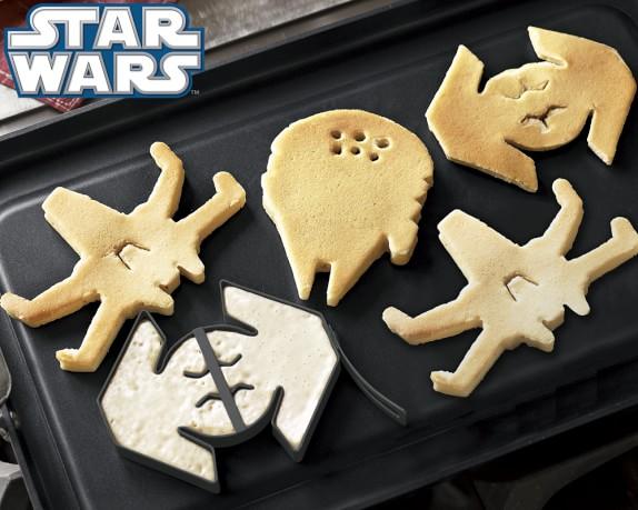 Star Wars pancake molds | 25+ ways to celebrate Star Wars Day