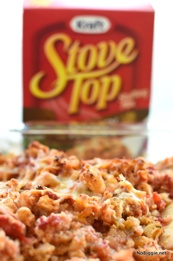 bruschetta chicken bake with Stove Top Stuffing