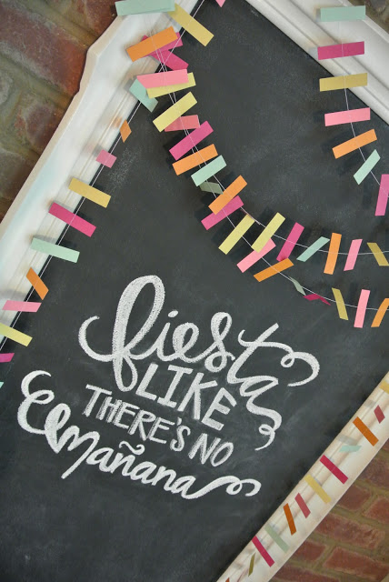 fiesta like there's no mañana | Cinco De Mayo Ideas