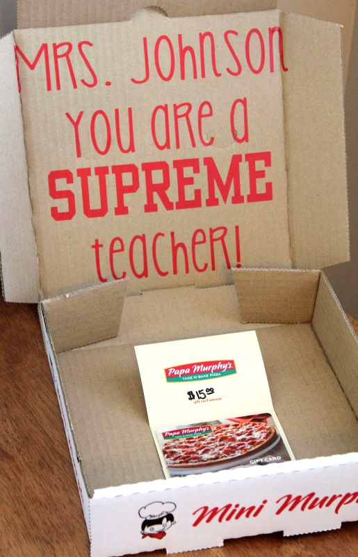 25+ Teacher Appreciation gift card