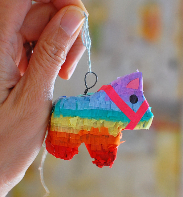 teeny tiny piñata | 25+ Cinco de Mayo Ideas