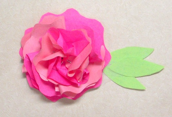 DIY post it note carnation flower | 25+ post it note DIY ideas