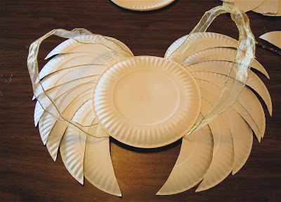 Easy-Peasy Last-Minute Angel Wings (No Sewing Needed!) | 25+ Paper Plate Crafts