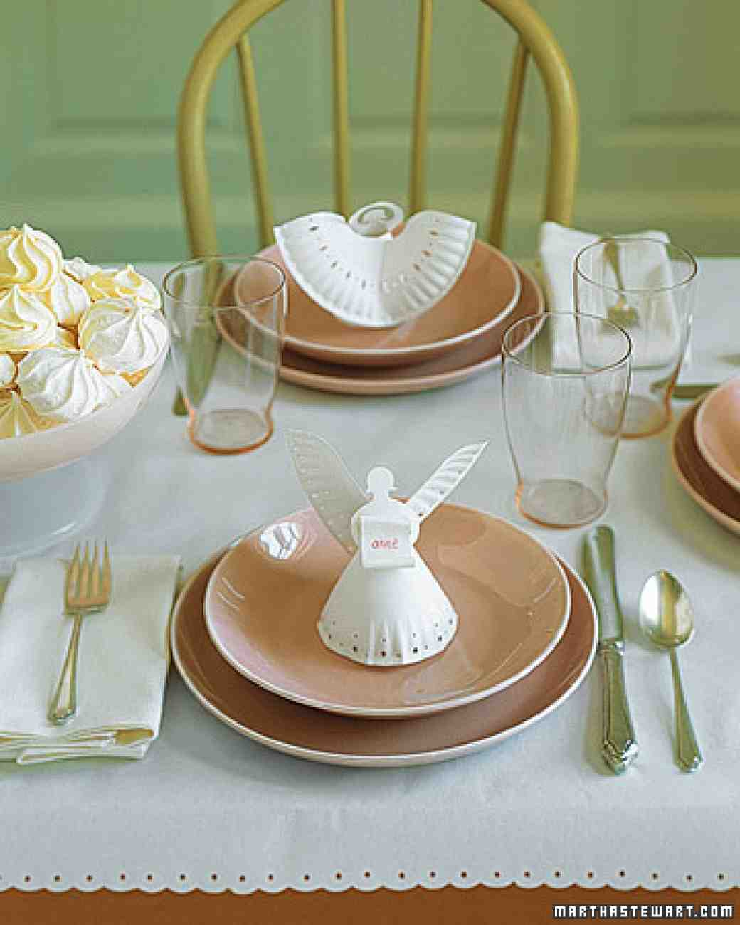Paper Plate Angels | 25+ Paper Plate Crafts