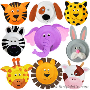 Paper Plate Animals | 25+ Paper Plate Crafts