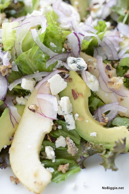 Pear salad | NoBiggie.net