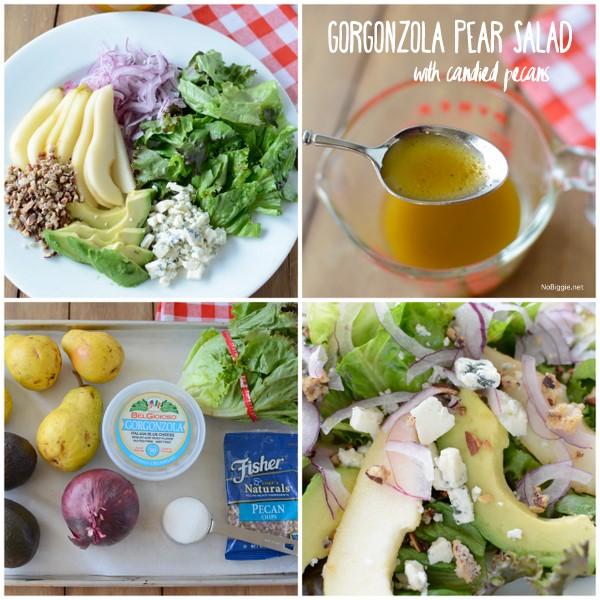 Pear salad with avocados + | NoBiggie.net