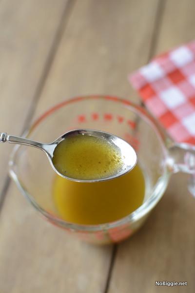 homemade vinagrette dressing | NoBiggie.net