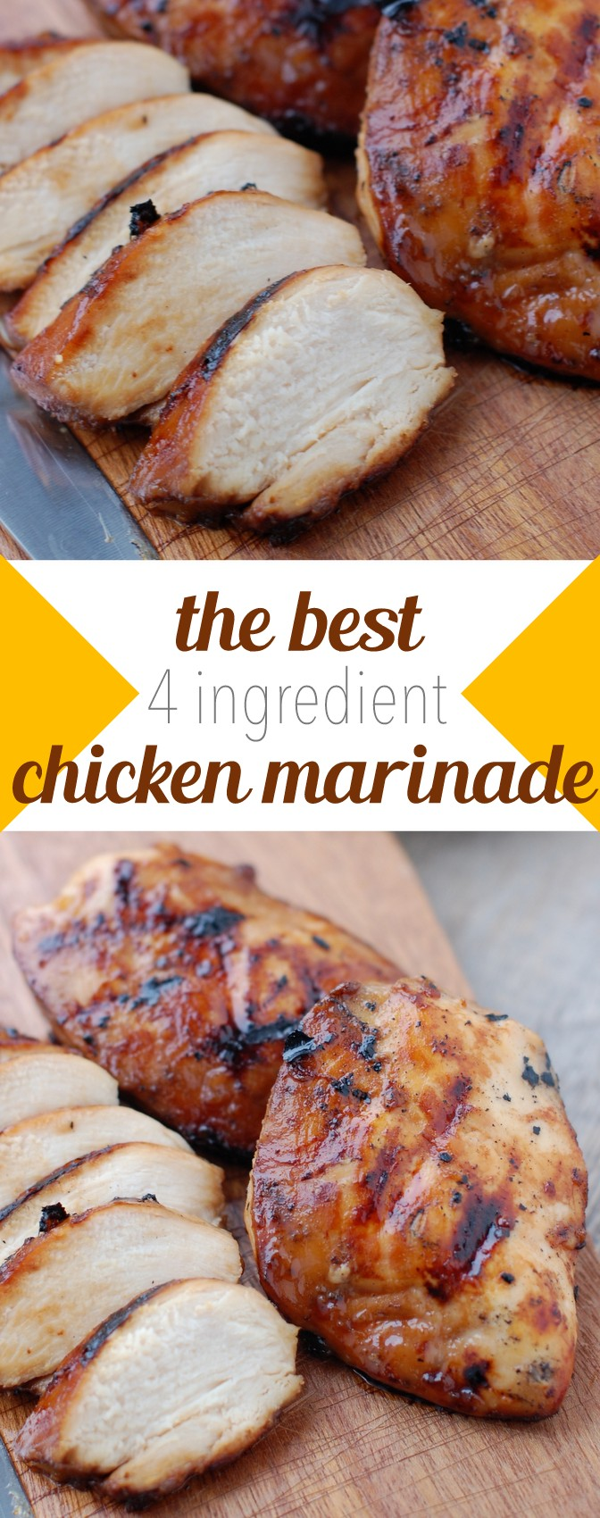 Jan 22, · Combine marinade with chicken in a ziplock freezer bag, and toss until the chicken is evenly coated in the marinade. Carefully press out any extra air that might be in the bag, then seal. (You will need 1/2 cup marinade per 1 pound of chicken.)5/5(4).