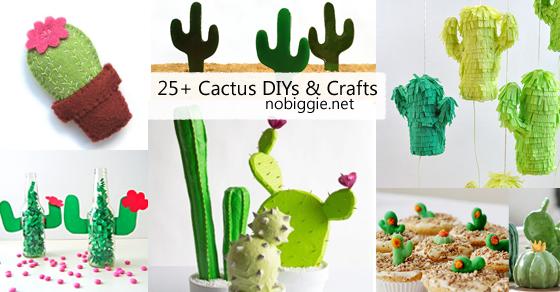 25+ Cactus crafts and DIY | NoBiggie.net