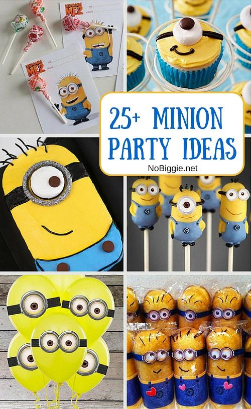 25 minion party ideas. Black Bedroom Furniture Sets. Home Design Ideas