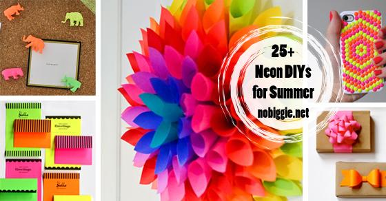 25 neon diy projects nobiggie. Black Bedroom Furniture Sets. Home Design Ideas