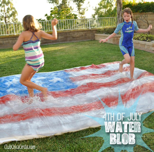4th of July water blob | 25+ 4th of July Party Ideas