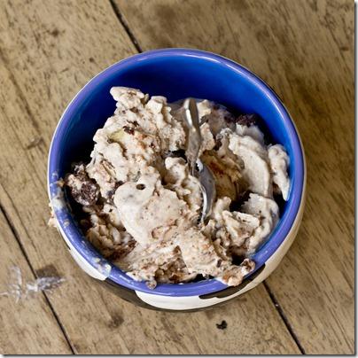 Banana Brownie Chunk Greek Frozen Yogurt | 25+ ways to use over-ripe bananas