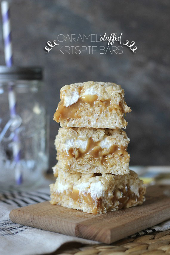 16 Easy and Tasty Rice Krispie Treat Ideas