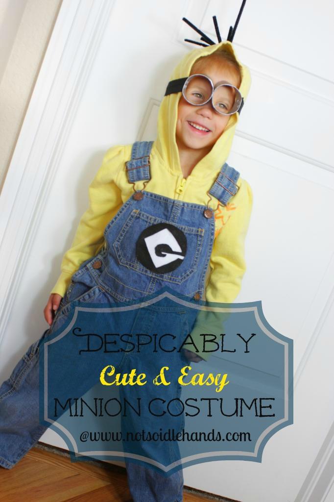 Despicably Cute and Easy Minion Costume | 25+ minion party ideas  sc 1 st  NoBiggie & 25+ minion party ideas